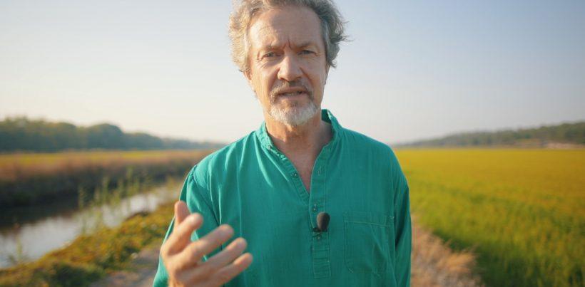 Louis-Albert de Broglie nos arrozais da Comporta